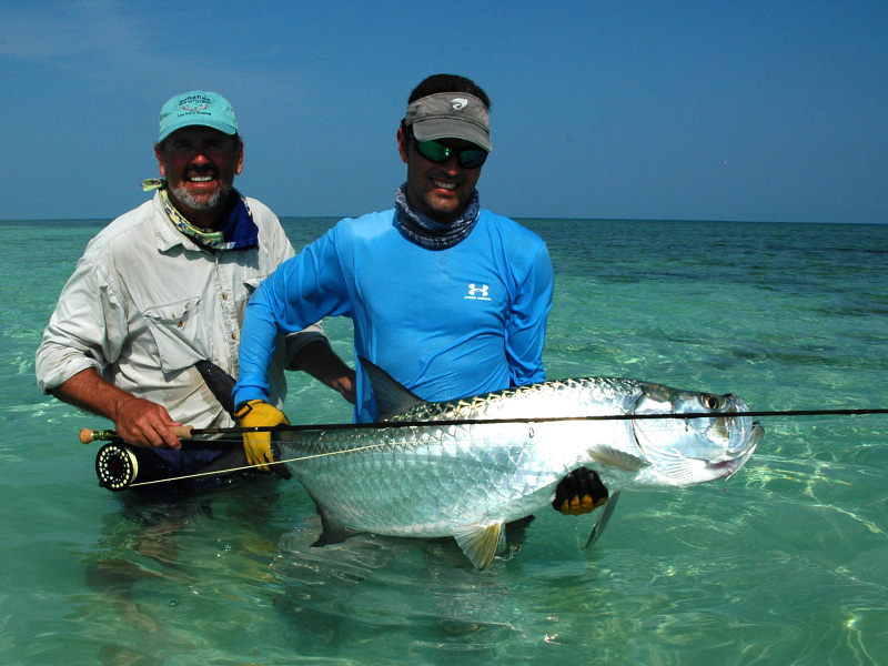 bahia honda sporting club tarpon florida fly fishing heaven