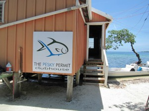The Pesky Permit Club at Tarpon Caye Logde