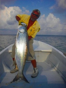 Fly Fishing for Permit in Belize - Whipray Caye Lodge