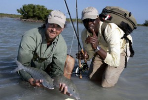Fly Fishing for Bonefish on Andros Island