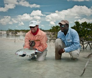 Acklins Island fly fishing for bonefish at Grey's Point