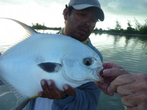Costa de Cocos, fly fishing for permit, tarpon and bonefish n Xcalak, Mexico.