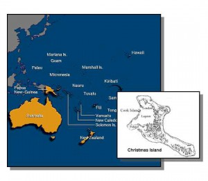 Christmas Island Fly fishing for bonefish, giant trevally
