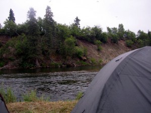 Flyfishing float trips in Alaska's Bristol Bay area fpr Rainbow trout, grayling, char and all 5 species of Pacific salmon