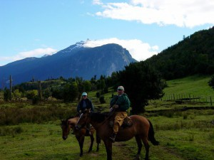 Trout fishing and camping in Chile at El Patagon Lodge, fly fishing heaven.