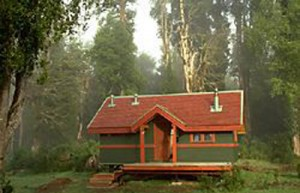 A cabin -Trout fishing in Chile at El Patagon Lodge, fly fishing heaven.