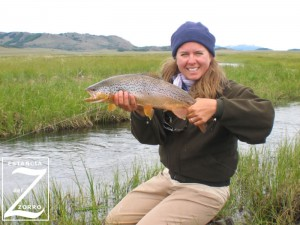 Fly fishing Chile's Estancia del Zorro for Patagonia's large brown trout