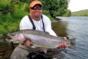 Kamchatka dry fly fishing for huge rainbows