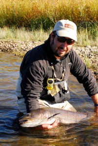 Fly fishing in Mongolia for giant aimen, amur trout and lenok with Mongolia River Outfitters and flyfishingheaven.com