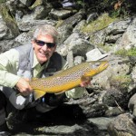 Fly fishing New Zealand's South Island, sight fishing for browns in crystal clear New Zealand rivers with flyfishingheaven.com