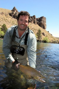 Fly Fishing the Patagonia region in Argentina for brown and rainbow trout