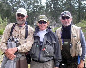 The fly fishing heaven team