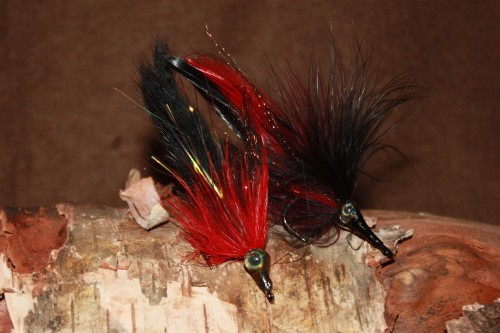 Black death tarpon fly selection for Beize