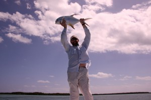 Fly Fishing for permit at Belcampo in southern Belize, fly fishing for permit at it's best!