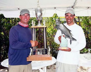 Scott Collins tarpon fishing - Gold Cup winner