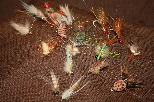 Hand tied in the USA Belize permit permit fly selections