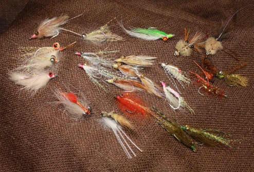 Bonefish fly selection for Belize