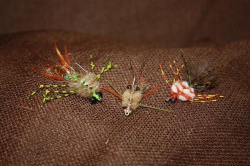 Belize Permit fly selections - Merkin