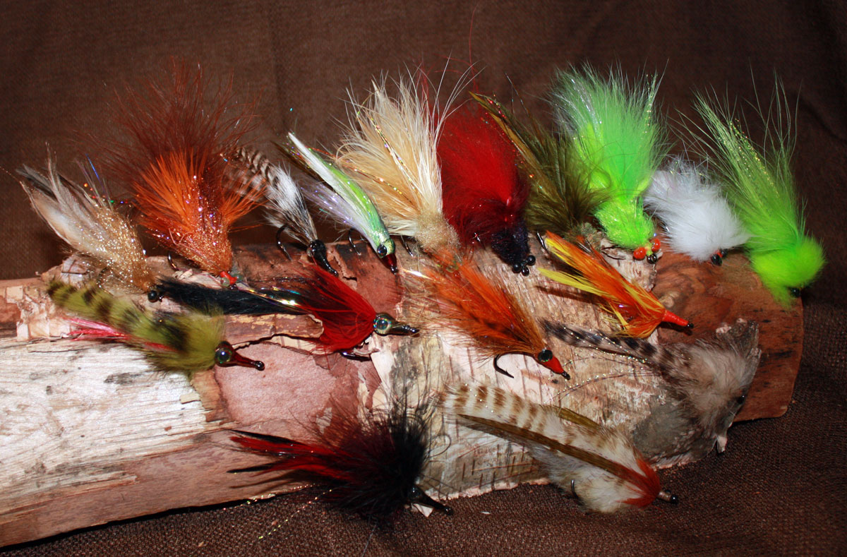 A selection of tarpon flies for your next tarpon trip to Belize, we will choose the right Belize fly selection based on your final destination and the season you are visiting.